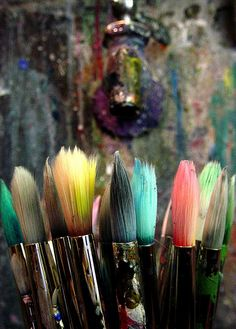 Paint Brushes by Art Freak, via Flickr