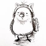 #draw #cute #sketch #lonely #art #おじさん #middleage #ペン画 #illustration #illustrationartists #love #drawing #bird #とりさん #sketchbook #cosplay #illustrator #doodle #artssharingcl #the_enchanted_art #イラスト #cat #instaart #細 #pen #オヤジ #illust #followme