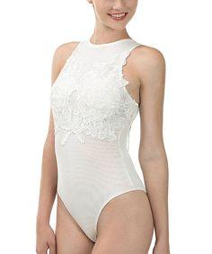 Off-White Lace-Detail Bodysuit