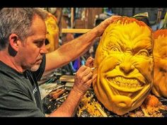 20 Most Detailed Pumpkin Carvings - YouTube