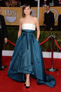I LOVE this!  Fashion Hits and Misses: The 2013 SAG Awards | Gallery | Wonderwall