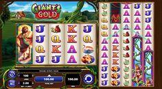 Ігровий автомат Giant's Gold присвячений світу велетнів з казки про бобове стебло. Ви будете отримувати в ньому реальні гроші на п'яти барабанах і 100 лініях виплат. В онлайн апараті два поля і серія фріспінів.