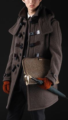 The Working Man: Winter Wear Inspired by Burberry