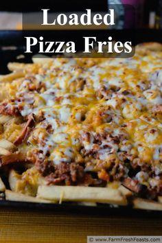 Loaded Pizza Fries #EatWithWest #ChubbyChasingMission #CysticFibrosisAwareness