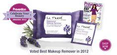 Best Makeup Remover | Prevention Magazine 2012 Beauty Awards  Shop now   http://lafreshgroup.com/