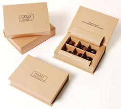 Chocolate Box by Ayşe Cıbaroğlu, via Behance Kraft Box Packaging, Cake Boxes Packaging, Chocolate Box Packaging, Soap Packaging, Chocolate Boxes, Chocolate Work, Chocolate Shop, Custom Chocolate, Chocolate Brands