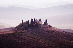 Val d'Orcia in Toscana, Italy / photo by Giorgio Pincitore