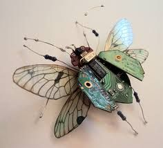 Afbeeldingsresultaat voor steampunk insects