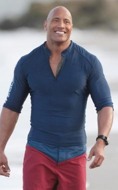 72a64e8b3f7 looking for something similar to Dwayne s blue tshirt which he is wearing  in Baywatch The Rock