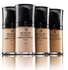 Revlon PhotoReady Airbrush Effect foundations!