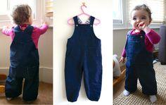 free pattern denim toddler dungarees