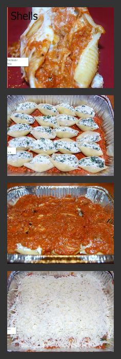 How to Make Stuffed Shells Florentine.