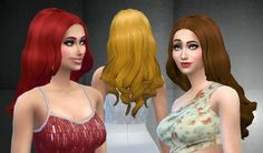 Floating Hair at My Stuff via Sims 4 Updates