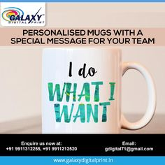 Get promotional t-shirts printing, digital textile printing services on tshirt, cap, bag etc. from Galaxy Digital Print, leading t-shirt manufacturer in Delhi. Brain Storm, Mug Printing, Personalized Mugs, Textile Prints, Printing Services, Printed Shirts, Digital Prints, Faces, Messages