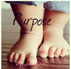 With every step we take in life, there is purpose. Your next step is filled with purpose! Let God lead and order your step....#purposedriven