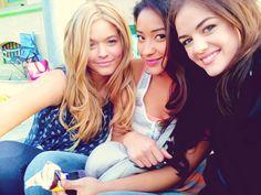Alison, Emily, Aria ♥ PLL