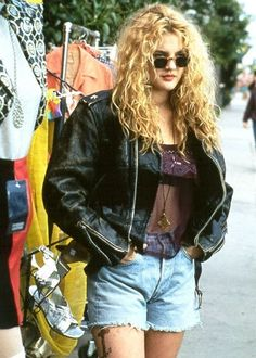 90's Fashion Explored Drew Barrymore in Poison Ivy
