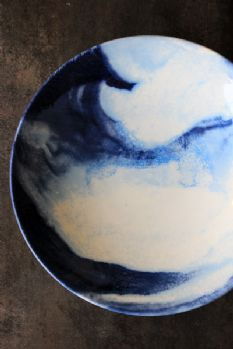 Indigo Storm Collection by Faye Toogood for 1882Ltd - Serving Bowl