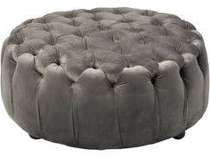nice Item specifics Condition: New: A brand-new, unused, unopened, undamaged item in its original packaging (where packaging is . Upholstered Storage Bench, Upholstered Ottoman, Round Ottoman, Cocktail Ottoman, Leather Pouf, Modern Rustic Interiors, Cool Items, Foot Rest, Mini