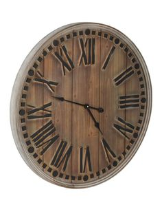 Casque Wall Clock