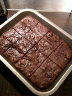 Paleo Recipe Queen: brownies INGREDIENTS 2 eggs 1/2 tsp vanilla 6 tbs oil (I usually use 3 tbs apple sauce and 3 tbs coconut cream/oil) 1/2 cup (or to taste) of maple syrup/honey 1/2 cup almond flour 1/2 cup unsweetened cocoa 1/4 cup arrowroot Chopped nuts Chopped up bits of unsweetened cooking chocolate   best stuff