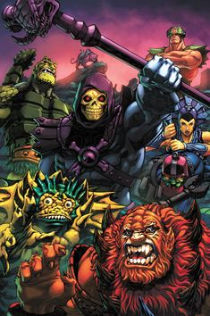 Evil Warriors by Joe Ng and Espen Grundetjern  Masters of the Universe