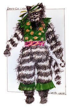 Raffish Crew - original costume design, John Napier 1981