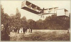 1906 - 1st officially witnessed unaided takeoff and flight by a heavier-than-air aircraft in Europe is made by Brazilian aviator Alberto Santos Dumont in his own airplane flying a distance of 60m (197ft).