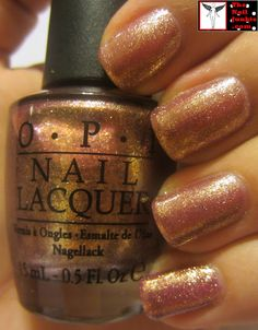 """The Nail Junkie: OPI """"Rally Pretty Pink"""" + Stamping ="""