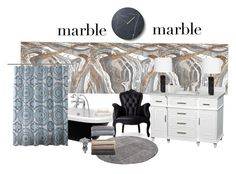 """""""#marblehome"""" by natashka2012 ❤ liked on Polyvore featuring interior, interiors, interior design, home, home decor, interior decorating, Oliver Gal Artist Co., Menu, Wyndham Collection and T.H. Robsjohn-Gibbings"""