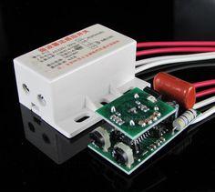 Hot High Quality 220v Infrared Module Sensing Microwave Radar Body Motion Sensor Switch Delay Distance
