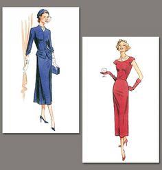 Patron de veste 1945 - Vogue 1136