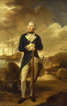rear admiral richard kempenfelt 1782
