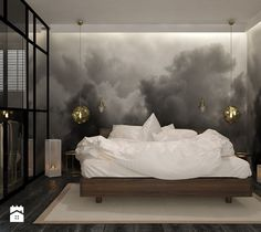 Black means excellence. With black lighting designs taking over the world of interior design, we couldn't help but cover this peculiar an Contemporary Bedroom Decor, Contemporary Light Fixtures, Contemporary Bathrooms, Modern Interior, Contemporary Style, Small Room Bedroom, Bedroom Ideas, Small Rooms, Design Bedroom