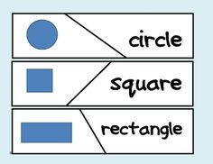 Here's a great puzzle to review shape words with your students.  Never used Self Correcting Puzzles before