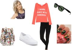 """I Wanna Dance With Somebody"" by m-huntzy on Polyvore"