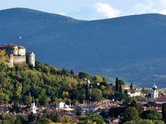 Gorizia castello e borgo medievale