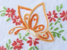 Vintage Embroidery Mom did beautiful work.