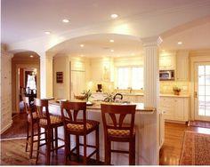 Custom Made White Kitchen