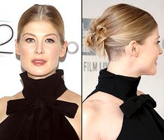 For lips that leave a lasting impression, celebrity makeup artist Melanie Inglessis used Vu's Drawmatic Lip Liner in Spark on Rosamund Pike for the premiere of Gone Girl. By mixing our award-winning liner with gloss, Pike created a softly bitten look in light berry … and we love it! See Us Weekly for more: http://www.usmagazine.com/celebrity-beauty/news/get-reese-witherspoon-rosamund-pikes-beauty-at-gone-girl-premiere-2014299