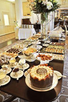 High Tea Buffet at the Mount Nelson