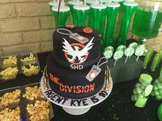 #thedivision #creative #birthdaycake