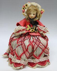 Italian Cloth Doll by Lenci