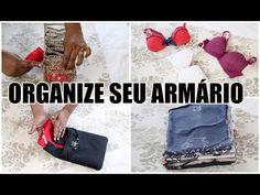 COMO ORGANIZAR E DOBRAR SUAS ROUPAS - Com a personal organizer Sheila Procópio - YouTube