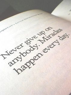 Never give up on anybody     https://www.facebook.com/photo.php?fbid=10151679209361718