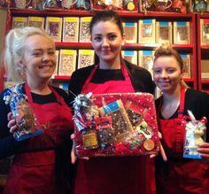 From @My_Apprentice - Apprentice Chocolatiers Chloe, Georgina and Natasha @The Chocolate Ramsbottom #madebyapprentices