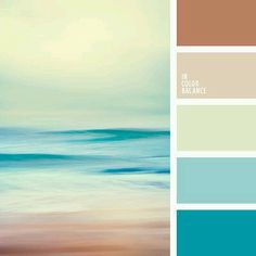 Beautiful Palette In Which Shades Of Turquoise And Blue Overlap With Soft Brown Tones  Is Built On Harmony. Free Collection Of Color Palettes ... Amazing Ideas