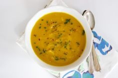 curried carrot sweet potato soup