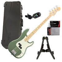 Fender American Professional P Bass MN - Antique Olive HOME PAK