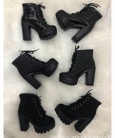 High Heel Boots, Heeled Boots, Shoe Boots, Shoes Heels, Fancy Shoes, Pretty Shoes, Me Too Shoes, Sneakers Fashion, Fashion Shoes